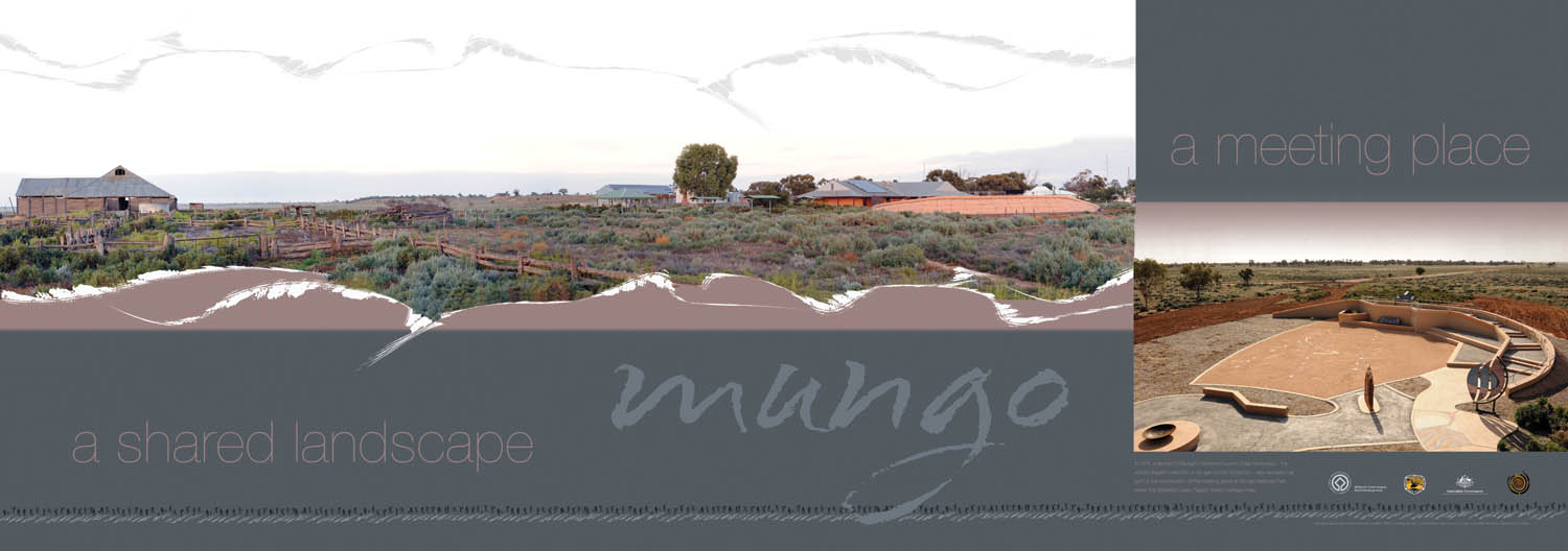 poster promoting Mungo - a shared landscape