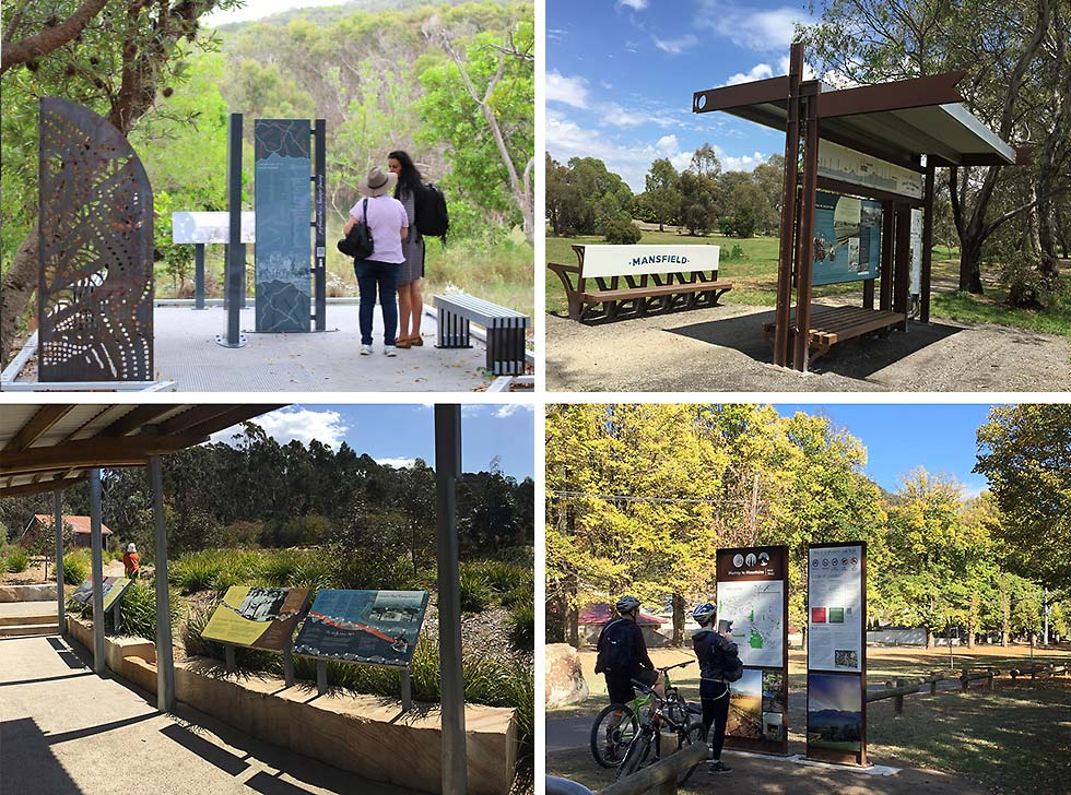 interpretive signs - landscape examples