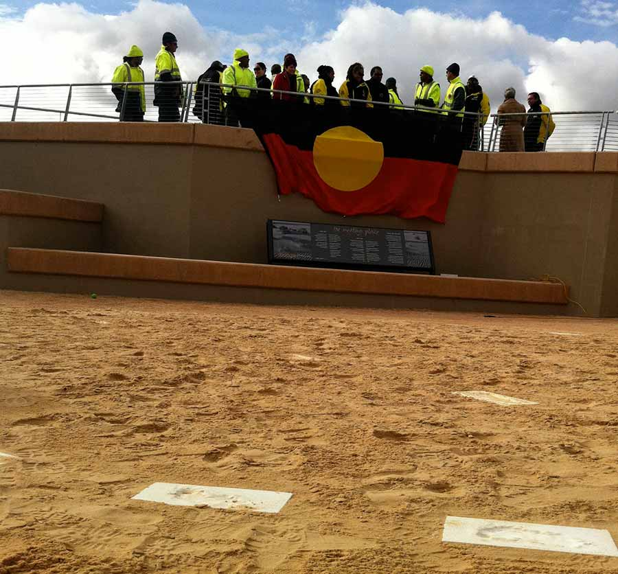 Interpretive planning for the Mungo Meeting Place centred around the involvement of the Aboriginal community